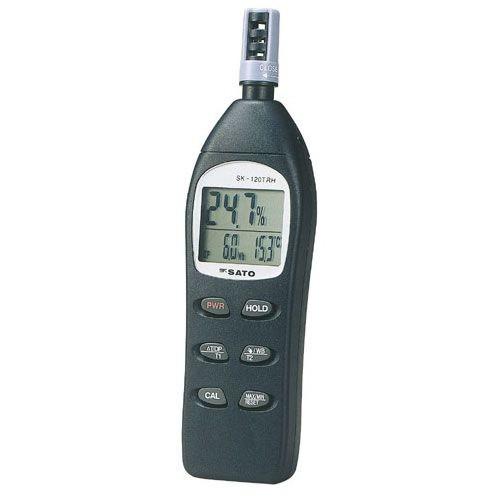 SATO 佐藤計量器 デジタル温湿度計 SK-120TRH 8130-00