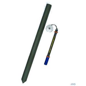 安藤計器 鉄管地温計 1-68-100