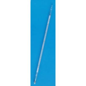 二重管式(目盛板入り)  安藤計器 小型二重管標準温度計 (JCSS校正証明書付) 1-05-11-JCSS (0~100℃)