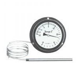 安藤計器 壁掛型 冷蔵庫用温度計 (背面取出 裏出し) A-75B-4040-100 (-40~40℃)