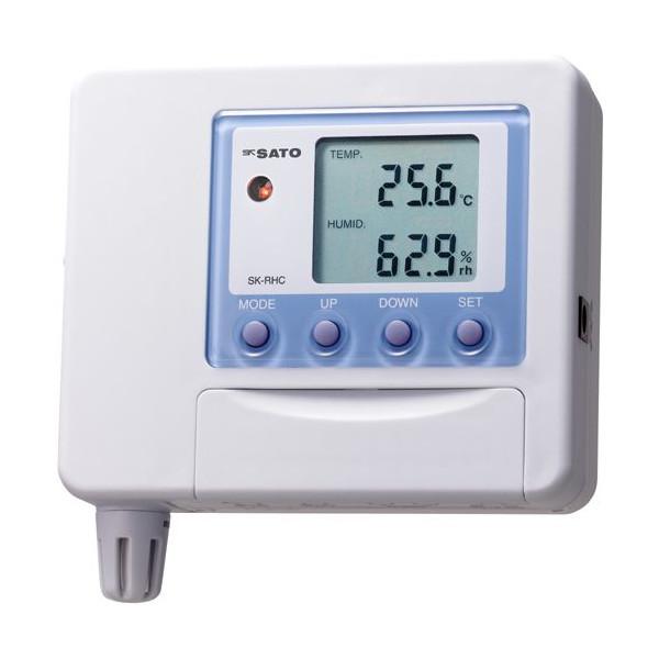 SATO 佐藤計量器 温湿度変換器 SK-RHC-V (電圧0~1V出力) 表示器 (センサは付属しません) 8920-01