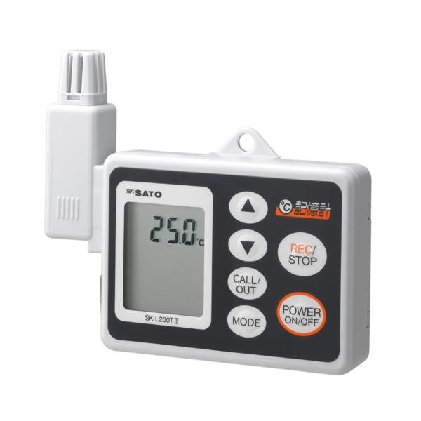 SATO 佐藤計量器 温度データロガー記憶計 SK-L200T II (本体のみ) 8161-00