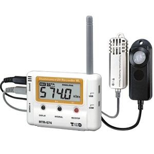 T&D ワイヤレスデータロガー おんどとり 照度/紫外線/温度/湿度 RTR-574-S (高精度タイプ)