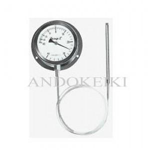 安藤計器 蒸気圧式 隔測温度計 (100Φ 投込み式) A-100-150-100 (0~150℃)