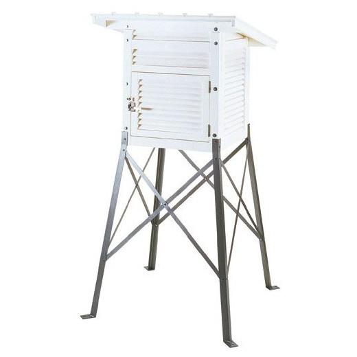 SATO 佐藤計量器 45型百葉箱 単葉式・片屋根 スチール脚 7960-46