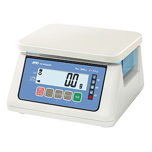 SH-AWPシリーズ ジャバジャバ洗えるIP67  A&D 防塵・防水デジタルはかり SH-6000AWP (秤量:6kg)