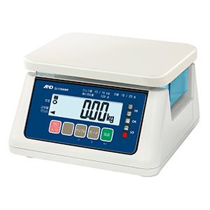 A&D 検定付き 防塵・防水デジタルはかり SJ-2000AWP-A1 (秤量:2kg)