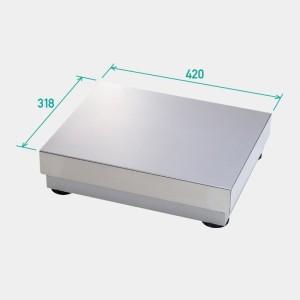 TERAOKA 寺岡精工 デジコンポシリーズ プラットフォーム型スケール 小型 S-SK スチール製 (秤量:30kg/60kg/150kg)