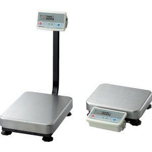 A&D 検定付き デジタル台はかり ポール有り FG-150KAL-K (秤量:150kg)