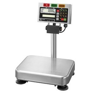 A&D 検定付き 防塵・防水デジタル台はかり FS-15Ki-K (秤量:15kg)