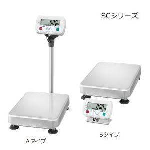 A&D 防塵・防水デジタル台はかり セパレート型 SC-150KBM (秤量:150kg)