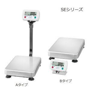 A&D 検定付き 防塵・防水デジタル台はかり 一体型 SE-150KAL-K (秤量:150kg)