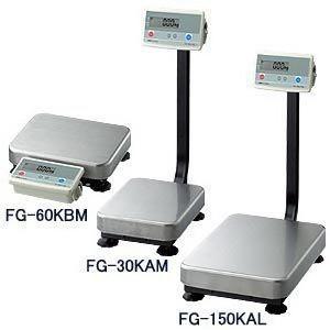 A&D デジタル台はかり ポール有り FG-60KAM (秤量:60kg)