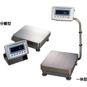 品質検査済 GP-12K A&D 校正用分銅内蔵型 (秤量:12kg):生活計量(ライフスケール) 防塵・防水型重量級天びん-DIY・工具