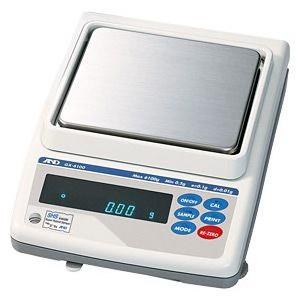 A&D 検定付き 電子てんびん 校正用分銅内蔵型 GX-4000R (秤量:4.1kg)