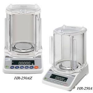 A&D 分析用電子天びん 校正用分銅内臓型 HR-250AZ (秤量:252g)