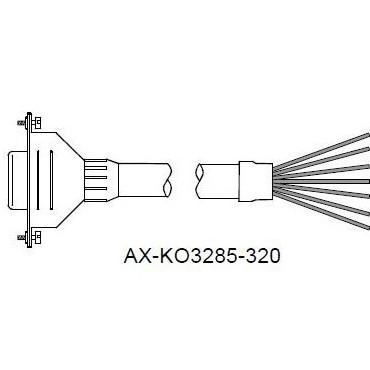 A&D PC用ケーブルユニット 3m (D-Sub 9P) AX-KO3285-320