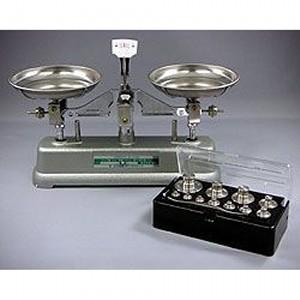 村上衡器 普通型上皿天びん MS型 MS-500 天びんのみ (秤量:500g)