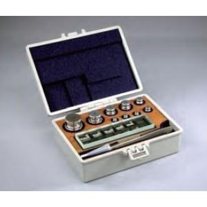 村上衡器 OIML型標準分銅セット(JISマーク付分銅) F2級 計100g (50g~1mg)