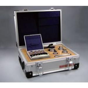 アルミ製ケース入り  村上衡器 OIML型標準分銅セット E2級 計10kg (5kg~1mg)