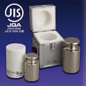 大正天びん(新光電子) JISマーク付 OIML型円筒分銅 (非磁性ステンレス) F1級(特級) 200g F1CSO-200GJ