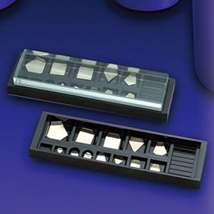 大正天瓶子(新光电子)标准砝码模板状砝码(非的磁性不锈钢)M1级(2级)500mg~1mg M1PSB