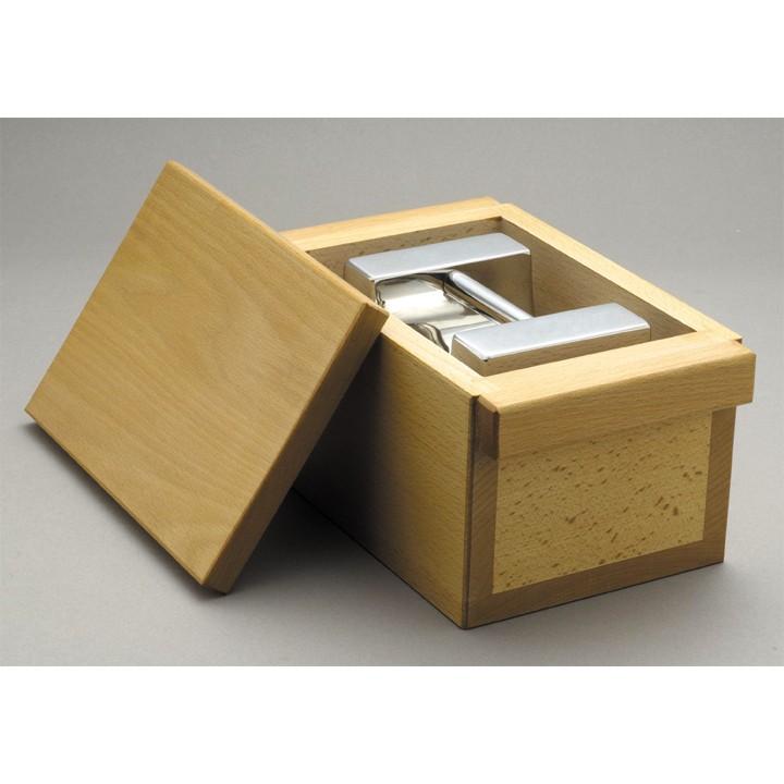 分銅ケース 大正天びん 新光電子 枕型分銅単品ケース 別倉庫からの配送 RC-20KR 20kg用 木製ケース 日時指定