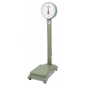 大和製衡 機械式 中型自動台はかり D-100MZ (車付) (秤量:100kg)