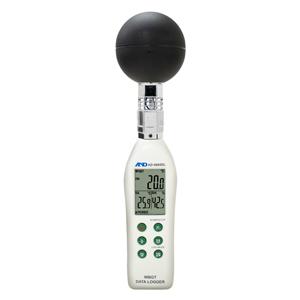 JIS B 7922準拠(クラス2)  A&D 黒球型 熱中症指数モニター AD-5695DL