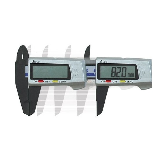 SHINWA Measurement Plastic Calipers Pocket 100mm 19515 New Japan