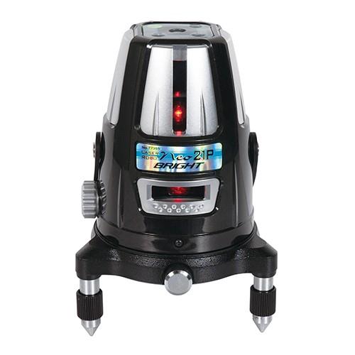 各種基準出しに  シンワ測定 レーザーロボ Neo 21P BRIGHT 縦・横・天墨・地墨 77355