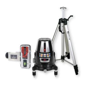 各種基準出しに  シンワ測定 レーザーロボ Neo 41 BRIGHT 受光器・三脚セット 77609