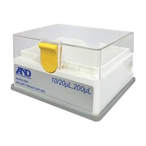 A&D 空ボックス (ロック付き) 10/20/200μL用 AX-BOX-200A