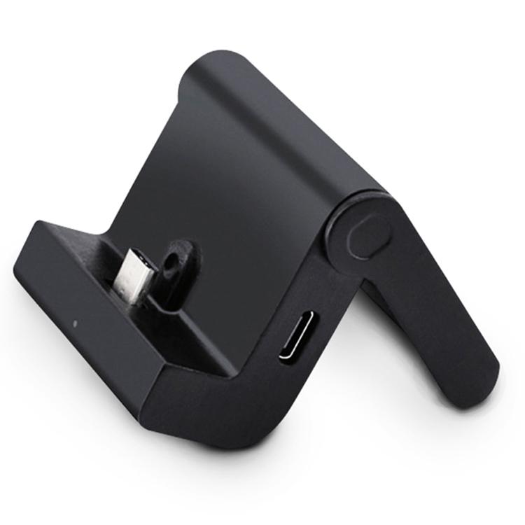 【DOBE】Nintendo Switch対応 コンパクト充電スタンド 折り畳み式 ポータブル 角度調節可 Type-C充電ドック タブレット充電 小型 携帯性抜群 LST-YLYNS042