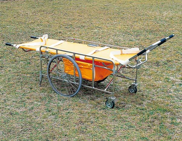 【防災 救出用品 担架 搬送用品】 レスキューカー 折りたたみ式救護車
