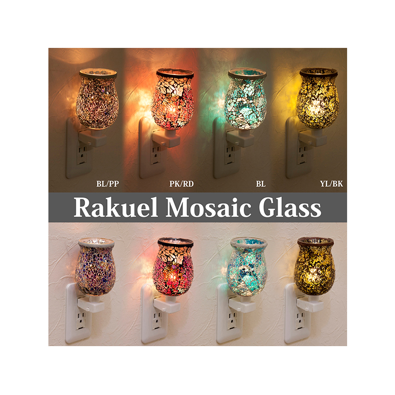 祝開店大放出セール開催中 細かなガラスが散りばめられた美しい照明 ラケルモザイクガラス クリアランスsale 期間限定 コンセントランプ