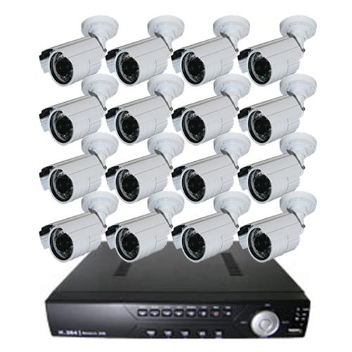 防犯カメラ 監視カメラ 送料無料!!屋外用防犯カメラ16台+最新レコーダーセット 防犯カメラの決定版 カメラ・HDDのアップグレードも可能 自由度の高い構築【日本語対応】【スマホ監視】(532P26Feb16)