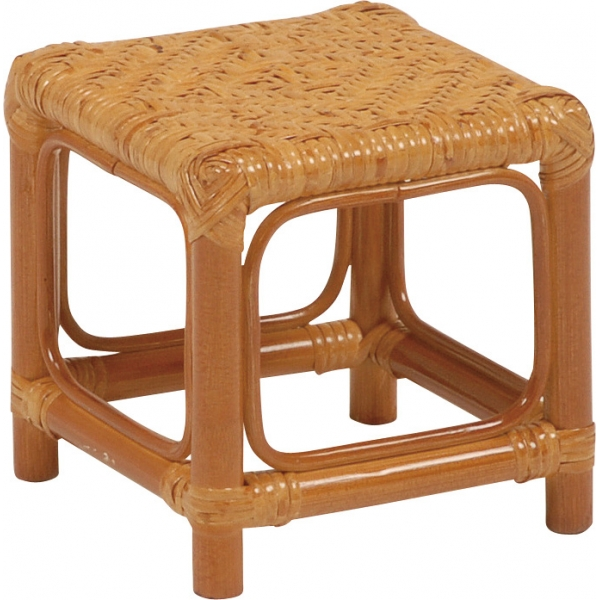 【送料無料】ミニスツール お得な12点セット 持ち運びラクラク手編みの座面で座り心地も良し