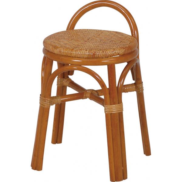 【送料無料】スツール 4点セット 軽くて丈夫なラタンで出来たスツール 手編みの座面で座り心地も良し