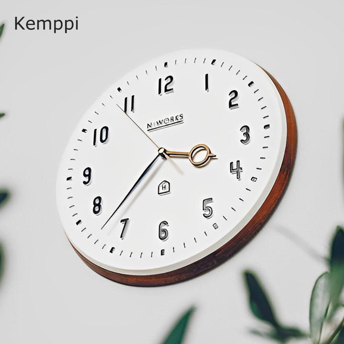 壁掛け時計 時計 正規品 中古 アナログ オシャレ レトロ 北欧 おしゃれ 壁掛け 掛け時計 Kemppi ケンピ CL-3931 白 ホワイト デザイナーズ ミッドセンチュリー 可愛い PUP01 カフェ ウォールクロック 見やすい あす楽 インテリア シンプル 着後レビューでクーポン