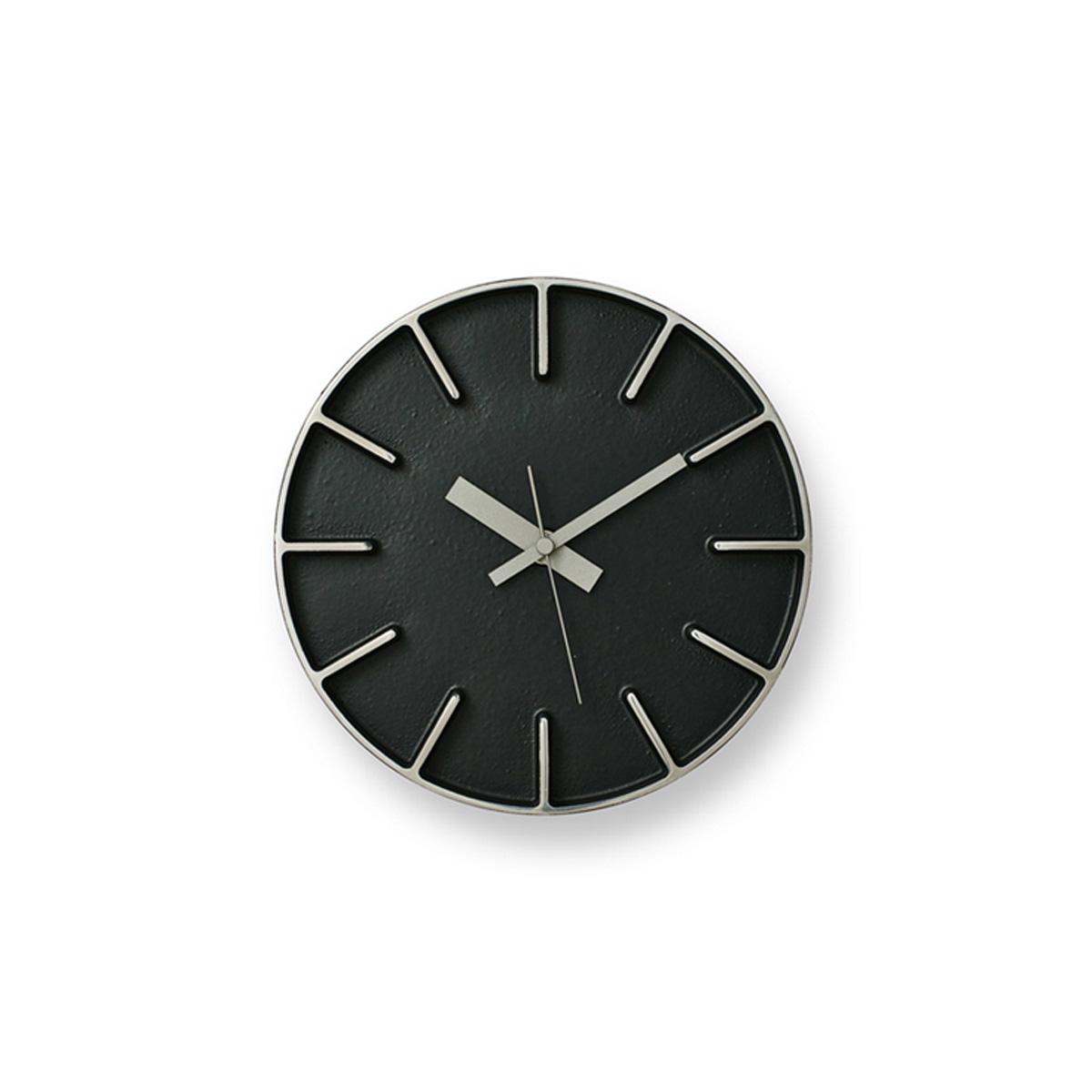 LEMNOS レムノス edge clock エッジクロック Lサイズ AZ-0115 レムノス 壁掛け時計 ウォールクロック スタイリッシュ 北欧