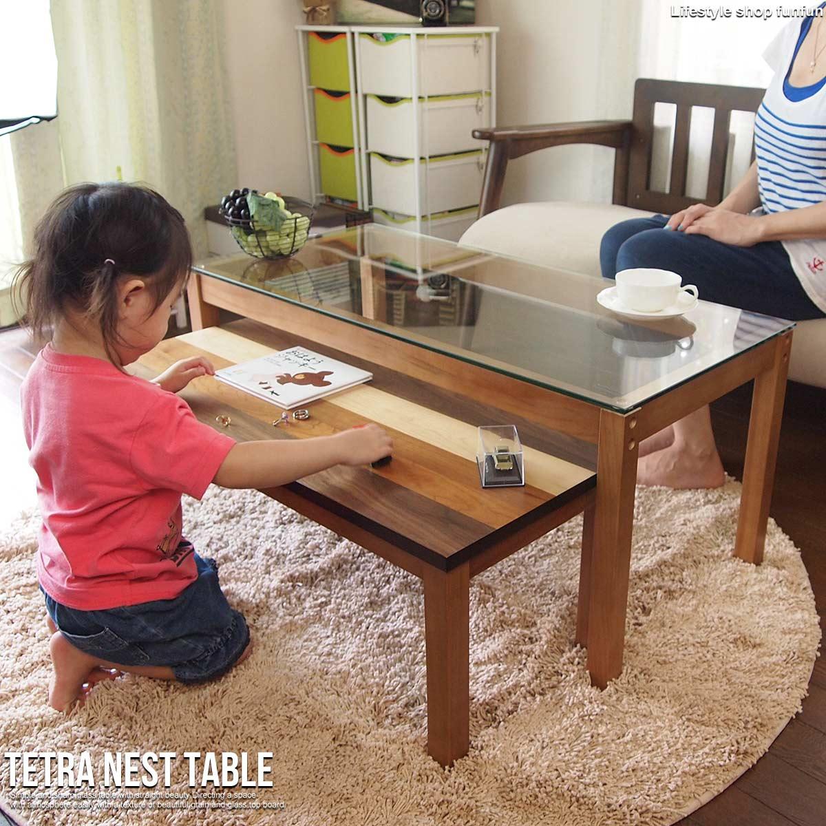 テーブル 大きめ ロー