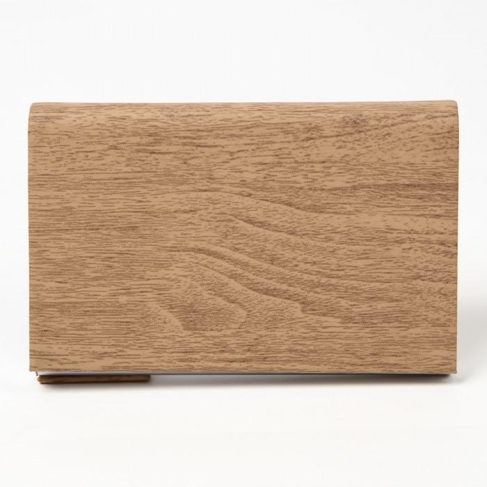 木柄名刺入れ 角が折れない メンズ レディース 木目 マグネット 高級感あり ビジネス ケース ノーブランド 父の日 プレゼント 20代 30代 40代 カラー9色