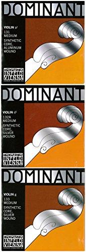 Dominant 感謝価格 ドミナント 4 A.D.G線セット D線シルバー巻 新品未使用正規品 4バイオリン弦