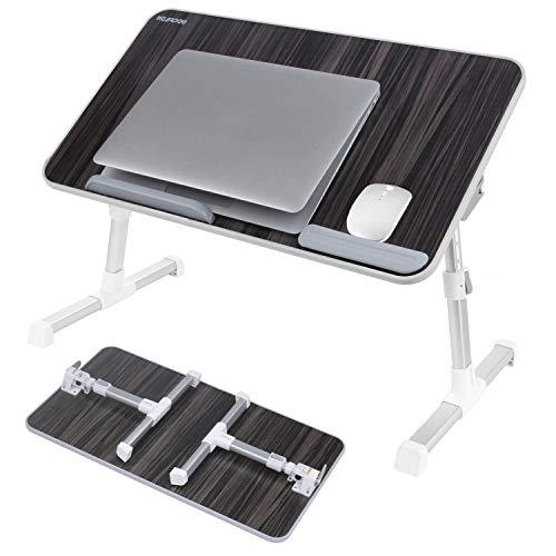 色:ブラック サイズ:52 30cm NEARPOW 改良版 送料無料 折りたたみ式 ノートパソコンスタンド いよいよ人気ブランド ベッドテーブル 4つ組み立て方 机上台 ベ 高さ 角度調節可能 ローテーブル 多機能 右 両 左利き対応