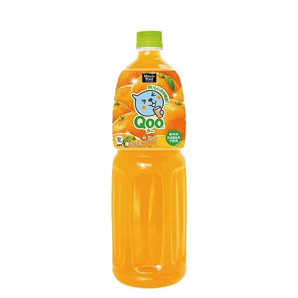 ミニッツメイドQoo沸腾的沸腾的桔子1.5L宠物*8(日本可口可乐)fs3gm 02P30Nov13