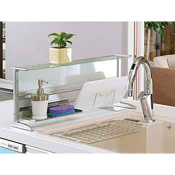 Lifetech Foods And Cosme Glass Kitchen Counter 60cm