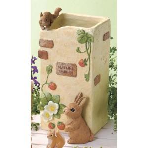 大自然花园伞架 (自然)、 兔子、 松鼠、 松鼠 / 室内 / 小工具 / 锥站起来 / 伞,伞站 / 入学 / 生活用品 / 入学 / 自然 / 可爱 / 新生活