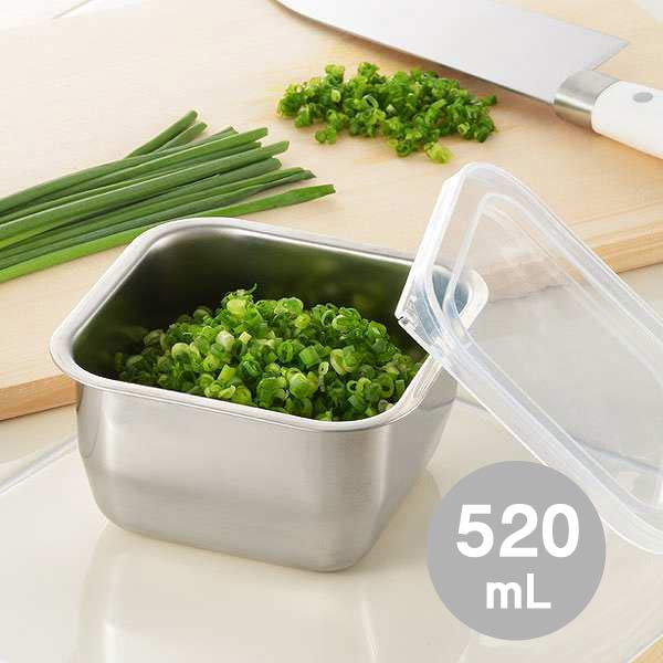 Preservation container side dish stocker mini-capacity 520ml/ side dish made of stainless steel ... & Lifetech foods and cosme | Rakuten Global Market: Preservation ...