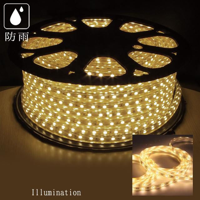 業務用 イルミネーション テープライト LEDテープライト 40m ウォームホワイト